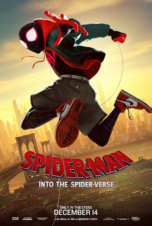 Poster Of Spider-Man: Into the Spider-Verse 2018 In Hindi Bluray 720P Free Download