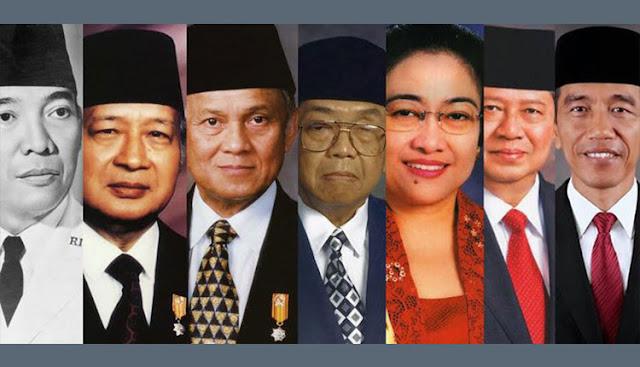 Presiden Republik Indonesia dari Awal sampai Sekarang - Sumber lyceum.id