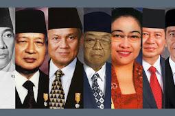 Nama-Nama Presiden Republik Indonesia dari Awal sampai Sekarang, Siapa Sajakah Mereka ?