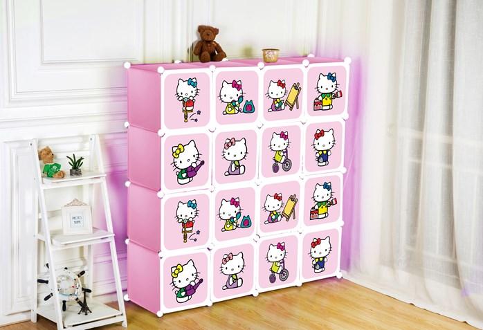 hello kitty cube wardrobe kayla8shops. Black Bedroom Furniture Sets. Home Design Ideas