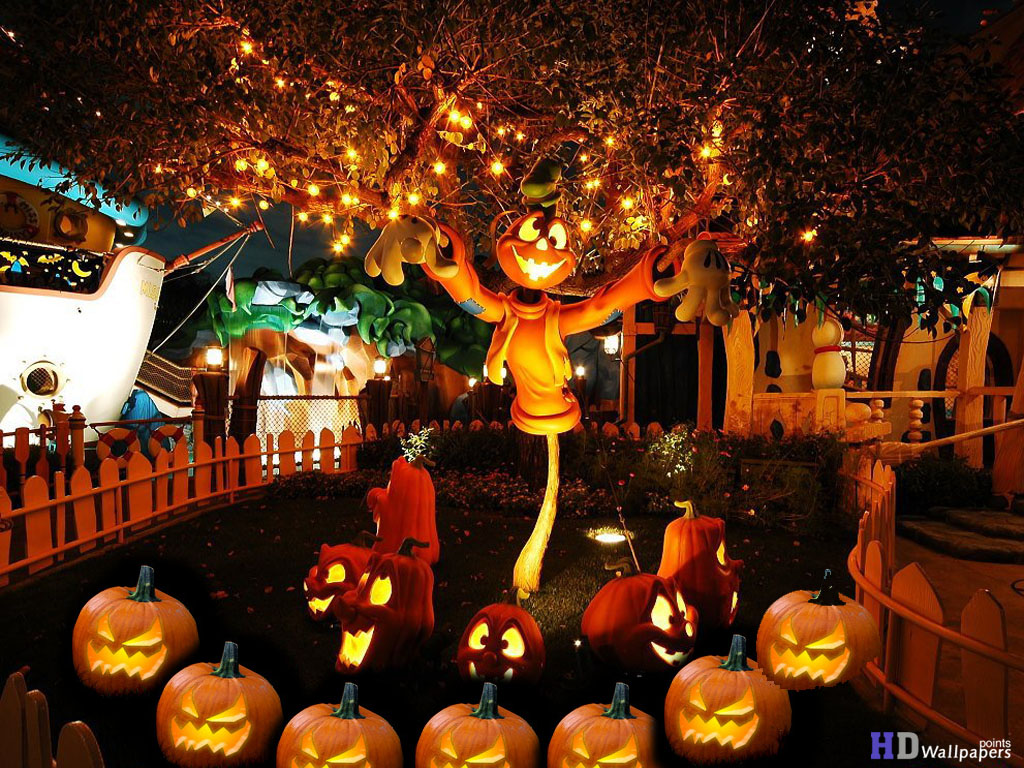 50+ Happy Halloween Scary Wallpaper Background Images DP And ...