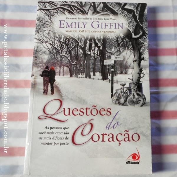 livro, Questões do Coração, Emily Giffin, Novo Conceito, romance