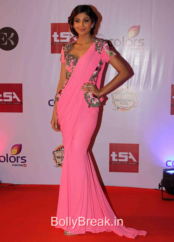 , Hot Pics of Shilpa Shetty From Television Style Awards