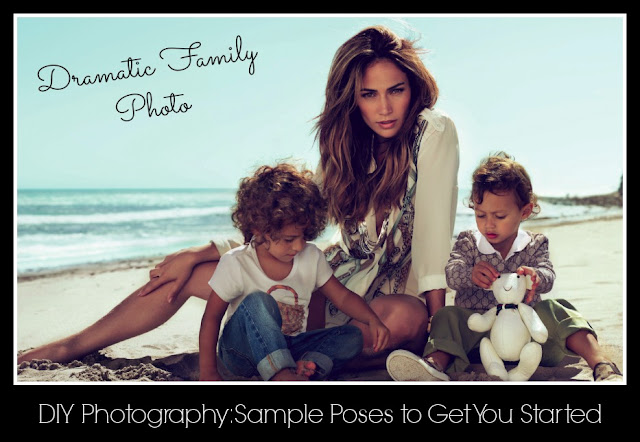 Basics of Photography:  Sample Poses for Photographing Children