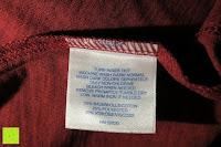 Waschanleitung: Lands' End - Baumwoll/Viskose-Shirt mit V-Ausschnitt