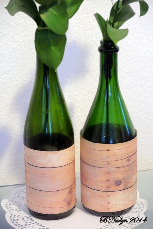 recycle wine bottles, upcycle wine bottles