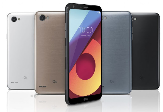 LG Q6 smartphone, bezel-less and its specification