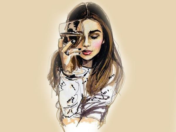 Все женщины делятся на 2 типа: предпочитающие красное вино или белое