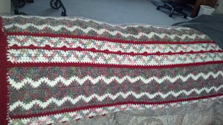 #crocheted blanket