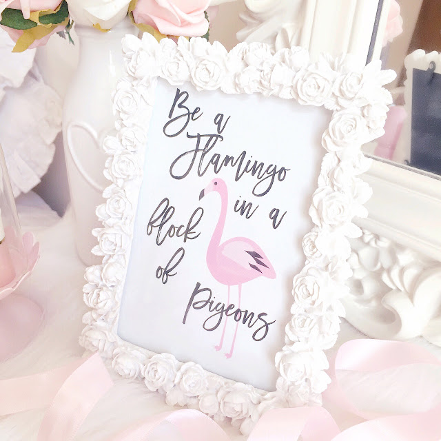 Homeware Haul | Paperchase Rose Photo Frame