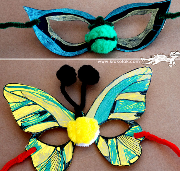 http://krokotak.com/2013/03/halloween-masks/
