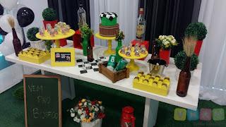 Decoração de festa Boteco