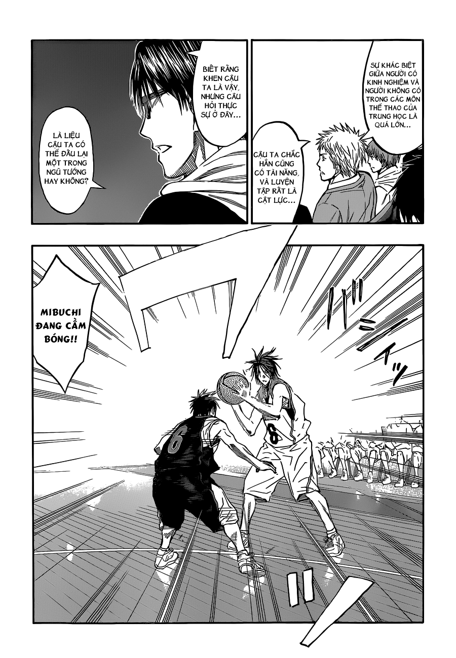 Kuroko No Basket chap 256 trang 10