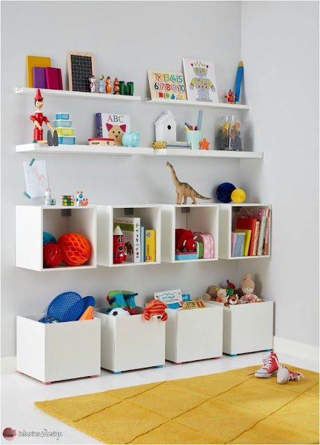 Organizing ideas for children's rooms 4