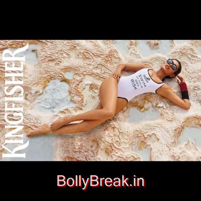 sarah jane dias ,   kingfisher calendar 2015 , cast ur vote if u like this image for the next cover of the calendar http://bit.ly/1wbwfcf, Download Kingfisher Calendar 2015 Hot Bikini Pics