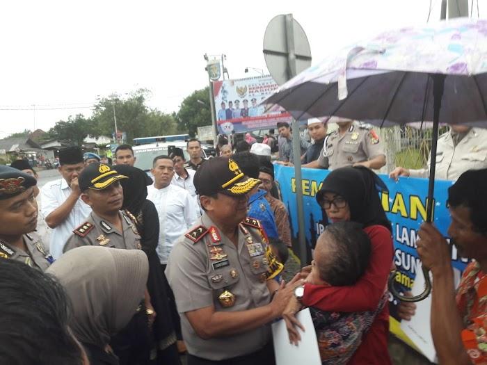 Ini Yang Dilakukan Kapolda Lampung Saat Safari Ramadhan di Tulang Bawang
