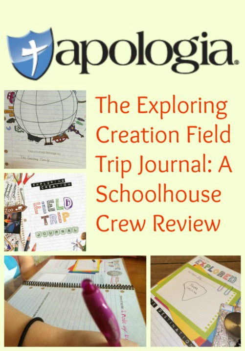 A review of the Exploring Creation Field Trip Journal from Apologia