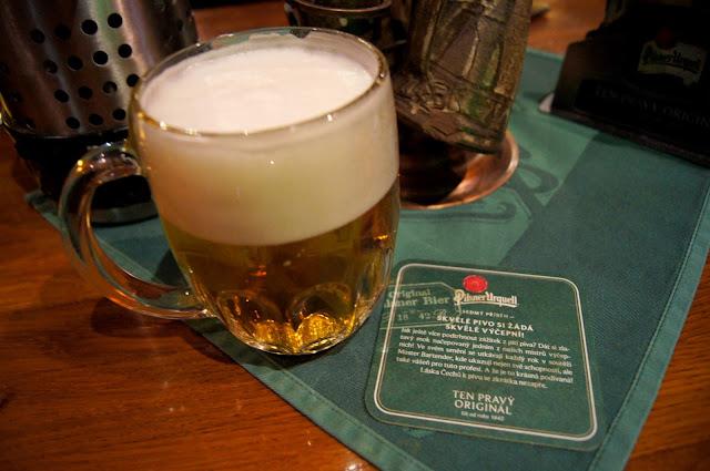 Prague Urquell pilsner