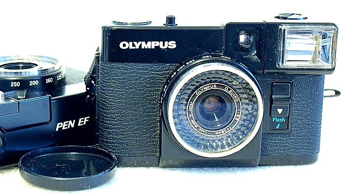 Olympus Pen EF Half-Frame Camera