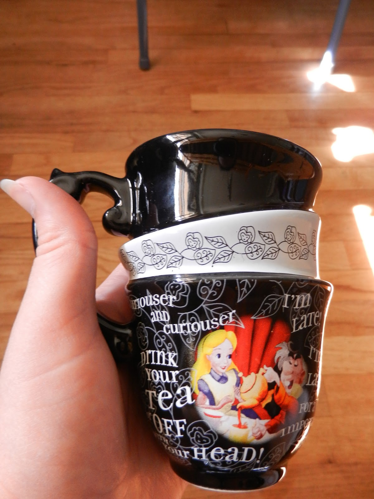 Alice in Wonderland disney cup