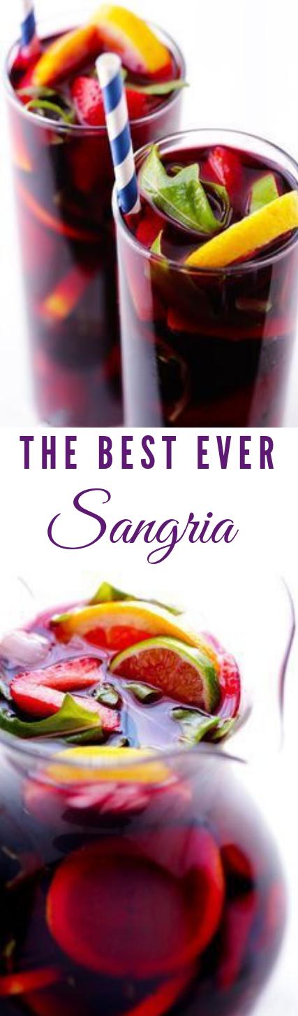 THE BEST SANGRIA #sangria #cocktail