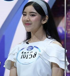 Tiara saat mengikuti audisi indonesian idol