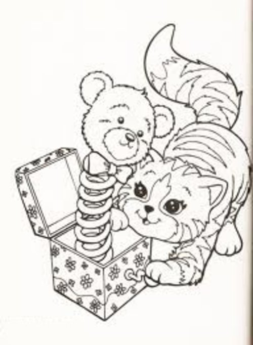 - Free Coloring Pages : Lisa Frank Coloring Pages Free Printable For Kids
