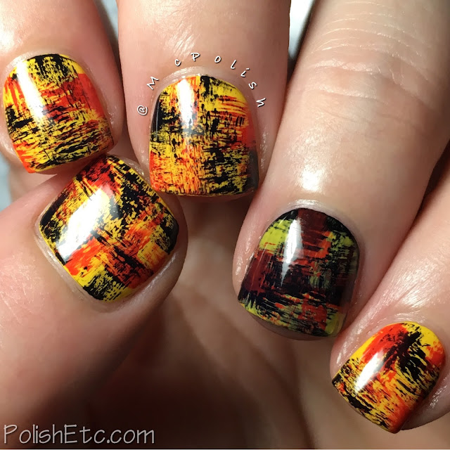 Inspired by the German Flag for the #31DC2017Weekly - McPolish