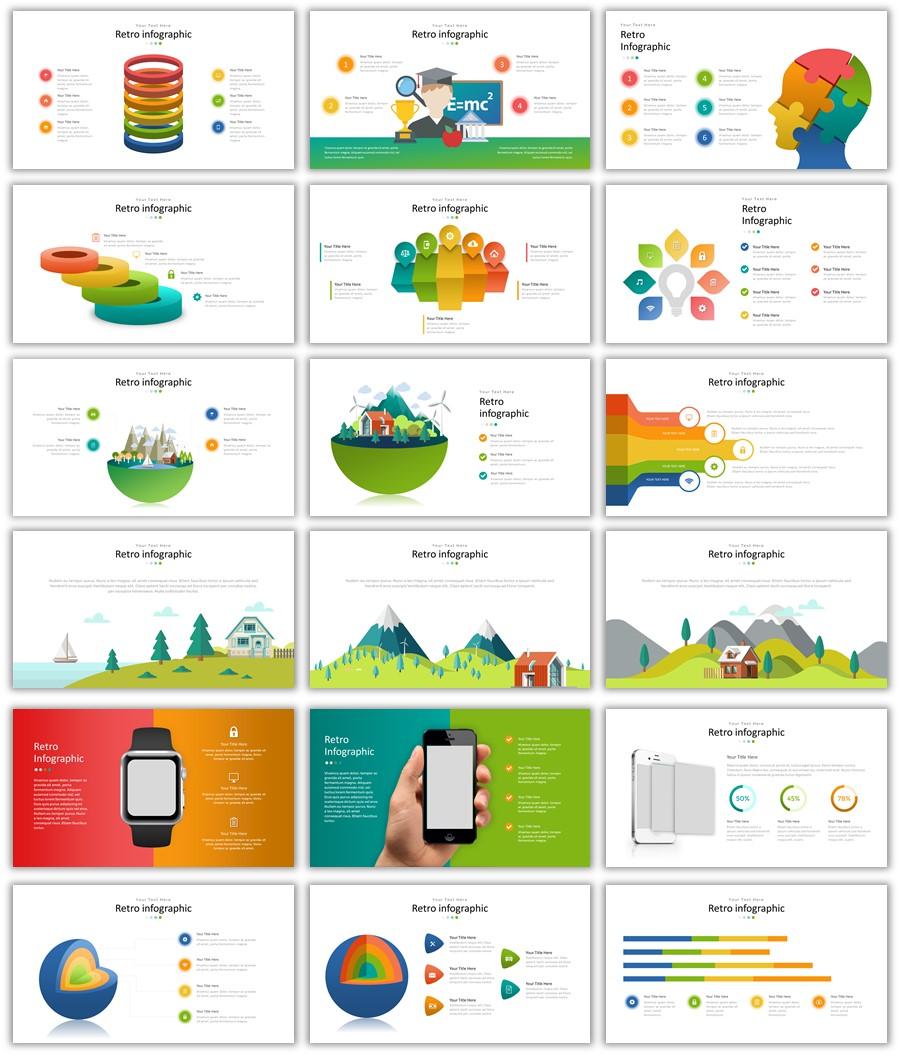 انفوجرافيك رائع جداً جاهز للتصميم