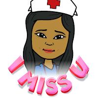 mother's love, cartoon nurse, miss you