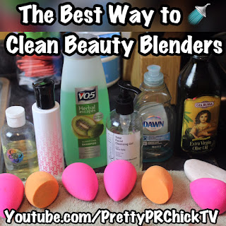 What's the Best Way to Clean Your Beauty Blender  PrettyPRChickTV
