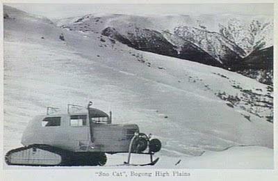 Australian Alpine Oversnow Equipment: Tucker Sno-Cat