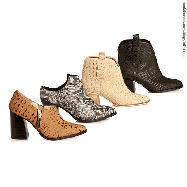 Alfonsa otoño invierno 2016 Moda en zapatos, botas y botinetas invierno 2016.