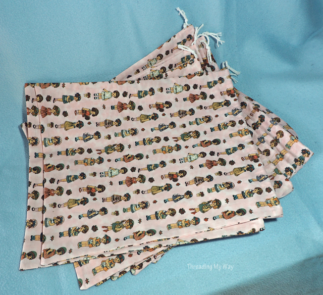 Drawstring Laundry Bags for NICU Babies ~ Threading My Way