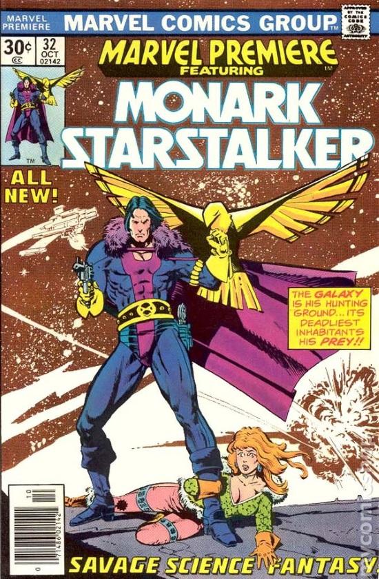 Portada de Marvel Premiere #32, obra de Howard Chaykin
