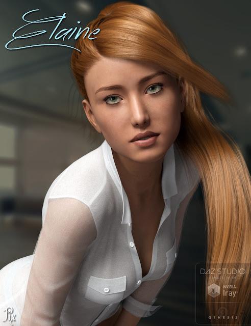 Pix Elaine for Genesis 3 Female