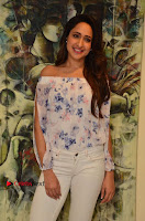Actress Pragya Jaiswal Latest Pos in White Denim Jeans at Nakshatram Movie Teaser Launch  0075.JPG