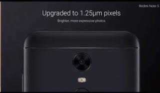 Xiaomi Redmi Note 5 cammera