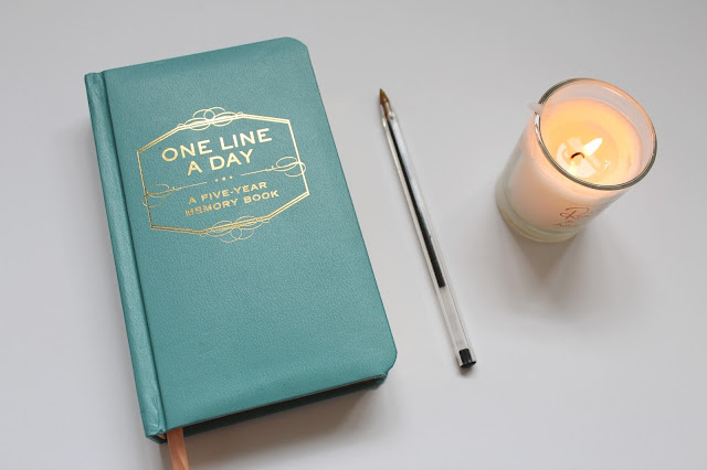 one line a day five year memory book urban outfitters diary blog blogger lifestyle photo beauty style home homeware kirstie pickering