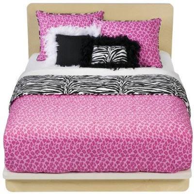 zebra print bedroom decor - Home Decoration