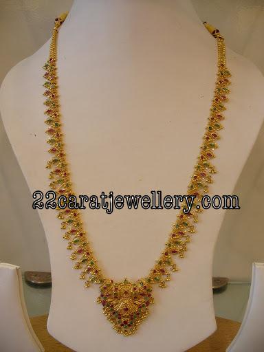 Gundla Mala 60 Grams Jewellery Designs