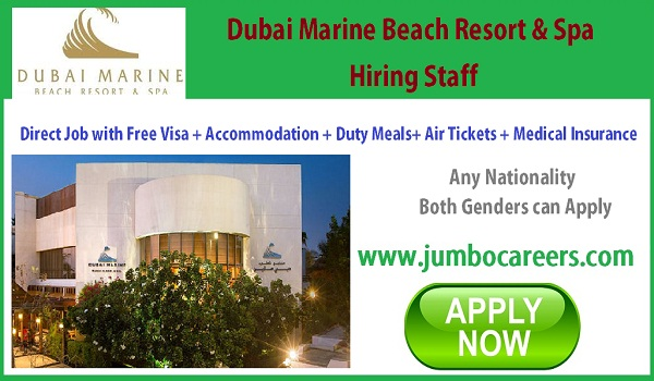 Latest 5 star hotel jobs in Dubai, Available Hotel jobs in UAE,
