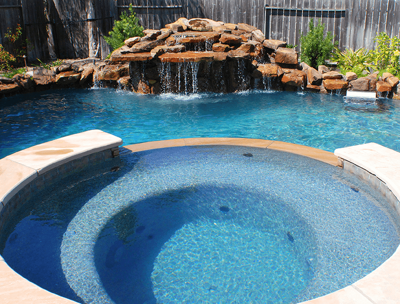 Custom Free From Inground Rock Pools DFW  1