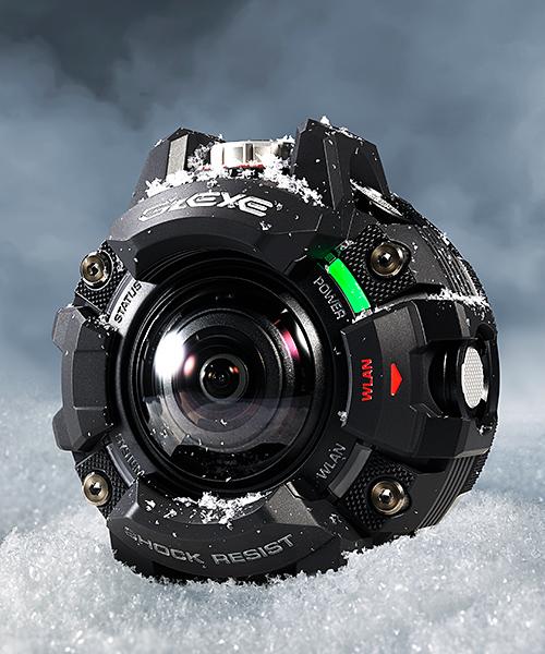 Casio GZE-1 на снегу