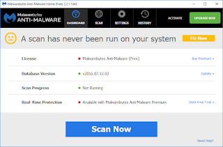 Malwarebytes Anti Malware Free