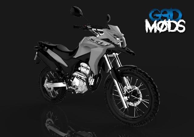 XRE 300 2019 Cinza ADAPTADA (PC Fraco)