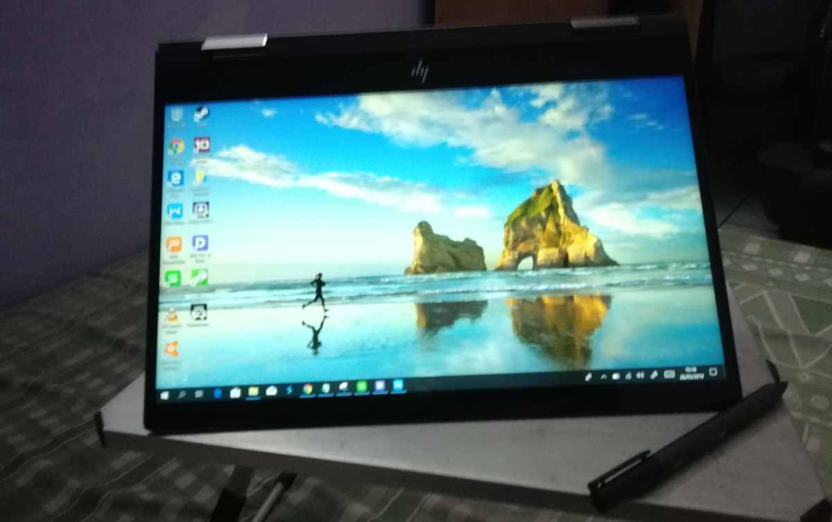 HP ENVY X360 13-ag0023au - Tent Mode