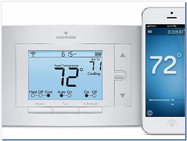 White-rodgers 1f86u-42wf Emerson Sensi Wi-fi Thermostat