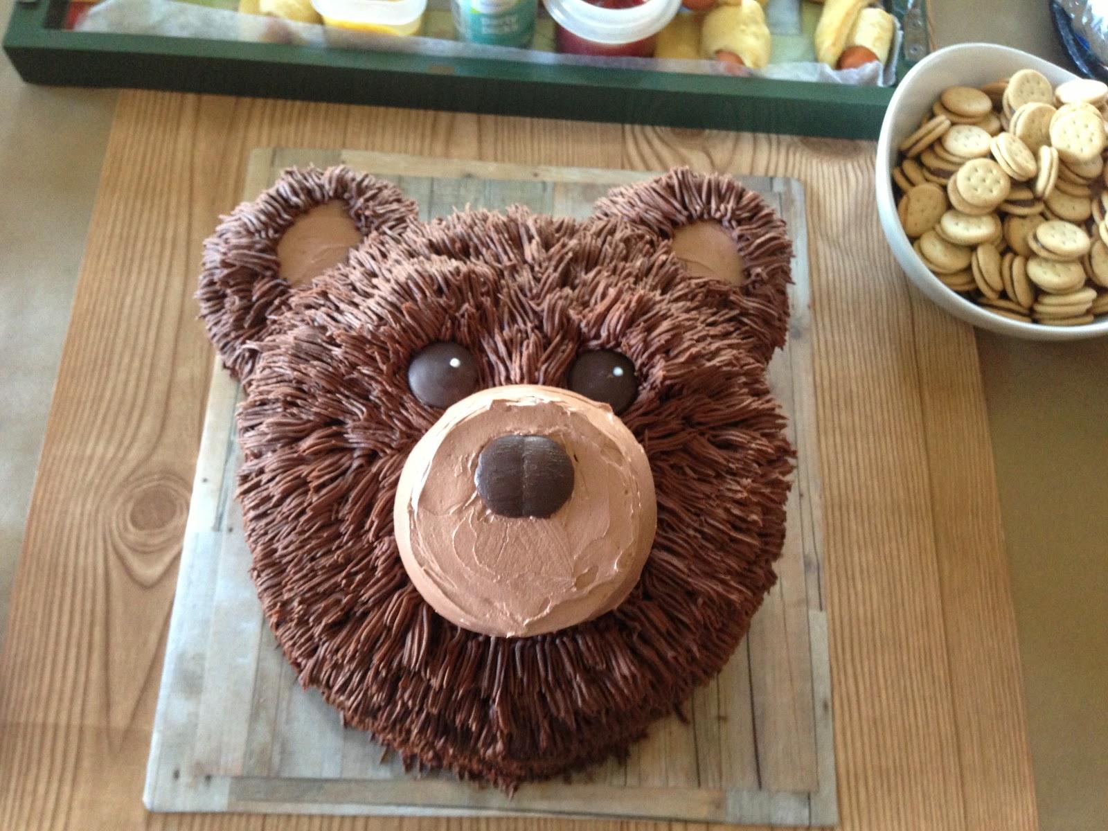Bear Face Cake Recipe