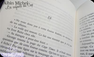 Livre - Les enfants du Cap : Michèle Rowe